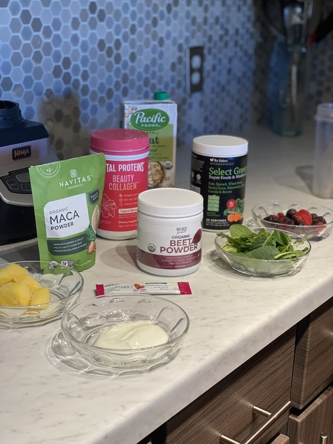 Vickie's Morning Smoothie Tips