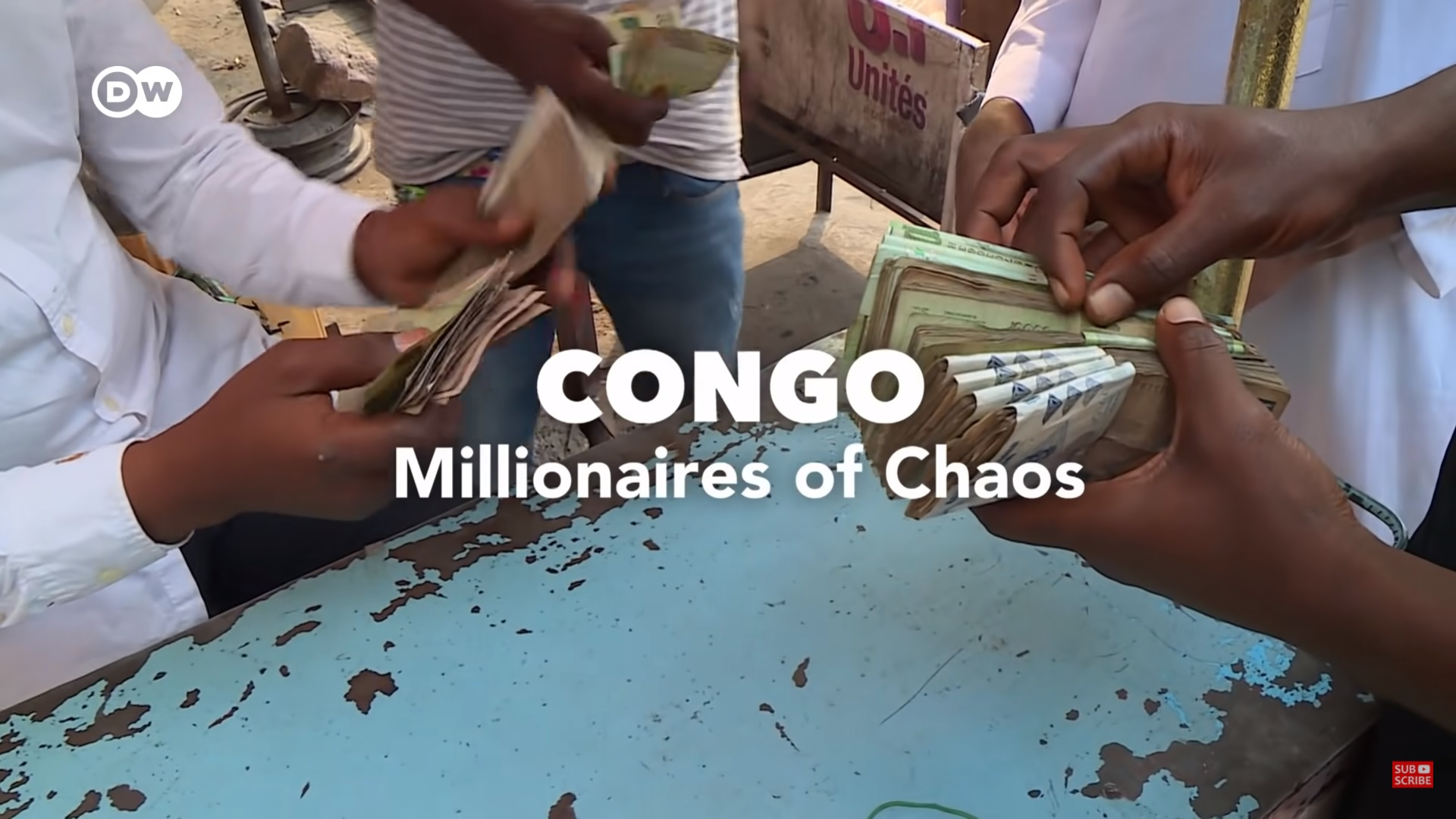 Lives of the super-rich in Congo