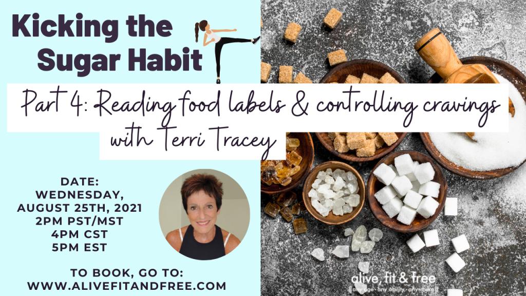 Kicking the Sugar Habit - 4